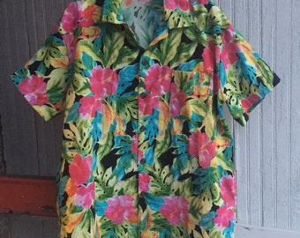 Hawaiian Button Down
