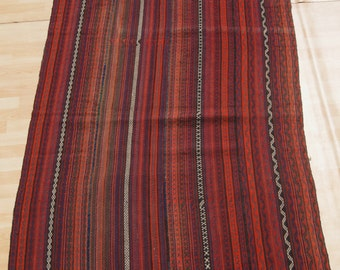 turkish cicim kilim home decor kelim hand woven wool rectangle kilim rug KLM1920