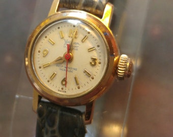 Early 60's Waltham Premier 17J Autowind Beautiful Vintage Ladies Watch