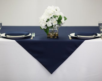 Blue Tablecloth Etsy