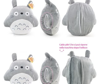 Plush Pillow sleeve fleece Totoro!