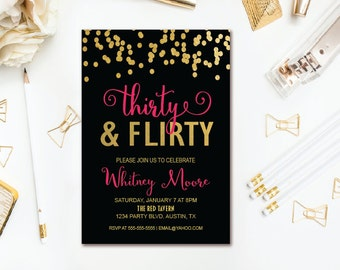 flirty thirty party themes Costume ideas, theme party help, and more from australia's biggest and best online fun and flirty thirty: how to make a 30th birthday memorable.