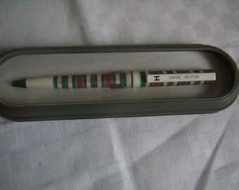 Vintage Daniel Hechter, multicolor pen, ballpoint, collection 1980 Vintage