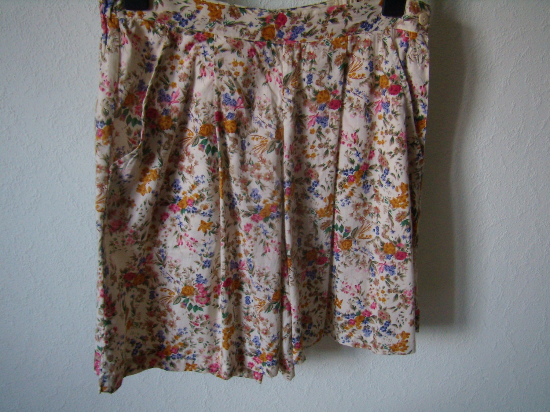 jupe culotte liberty bermuda jupe short femme coton. Black Bedroom Furniture Sets. Home Design Ideas