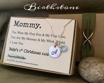 """Shop """"first christmas new mom gift"""" in Jewelry"""