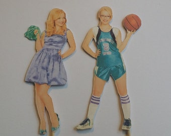 Set of 12 Liv & Maddie themed Cupcake Toppers