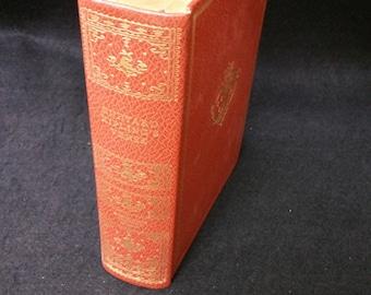 Rudyard Kipling's Verse Hardcover Book, Marie Antoinette Binding, International Collectors Library Ed. 1940