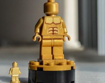 Oscar Award Statuette (The Academy Awards, The Oscars) - Custom LEGO minifigure / trophy