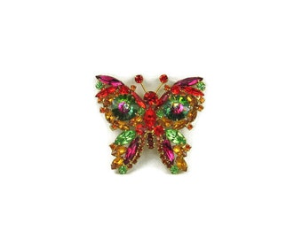 Large Juliana Butterfly Brooch