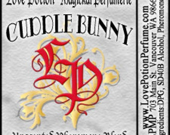PHEROTINE! Cuddle Bunny for Women ~ Pheromone Blend - Limited Ed UNscented Pheromone Trials by Love Potion Magickal Perfumerie