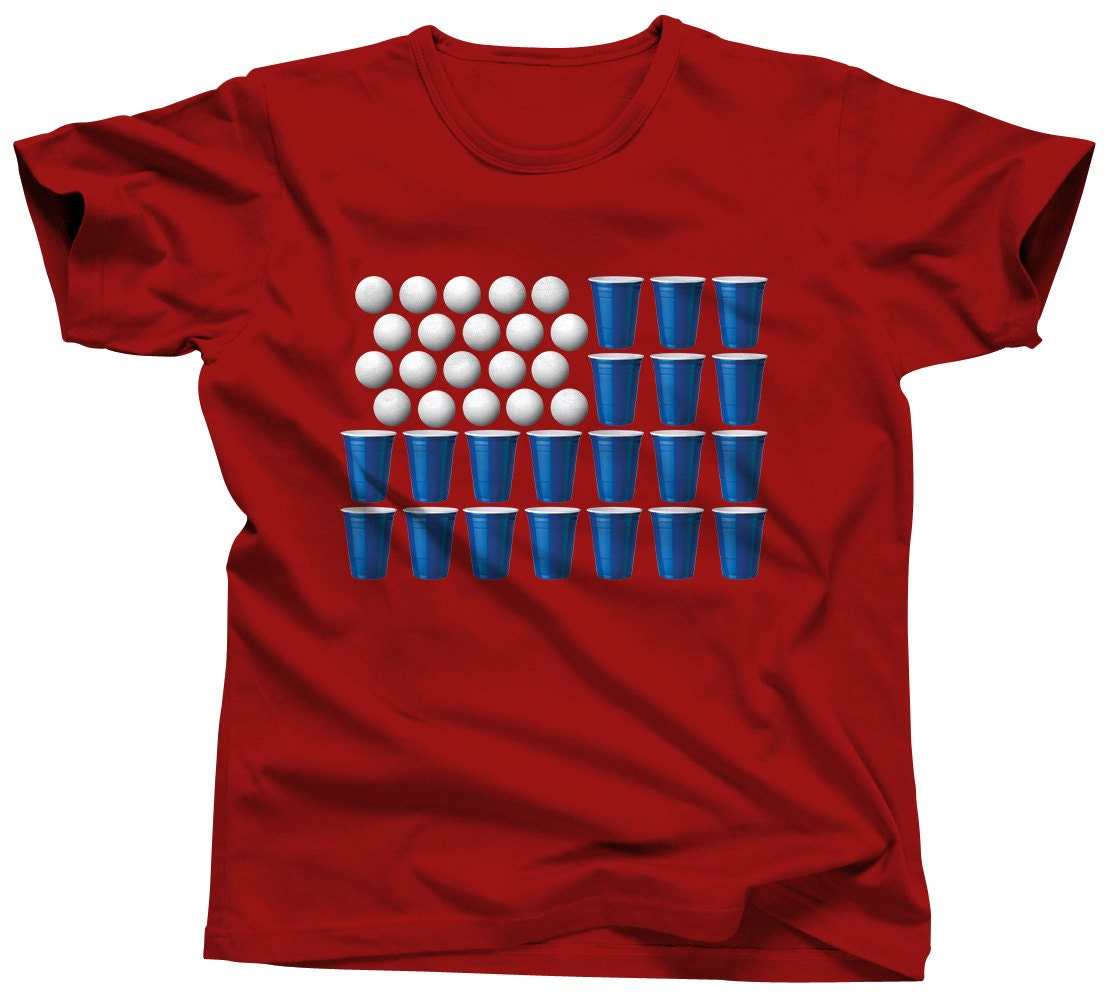 4th Of July Shirt Men Beer Pong Shirt Drinking Games By Umbuh