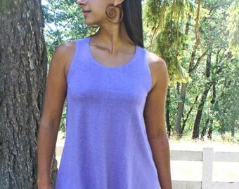 SALE ** Iris Tank - Hemp, Organic Cotton, Hand Dyed Tank Top