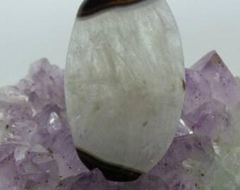 Agate Druzy pendant.