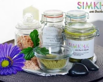 Bath salt: Dead sea salt and lavender