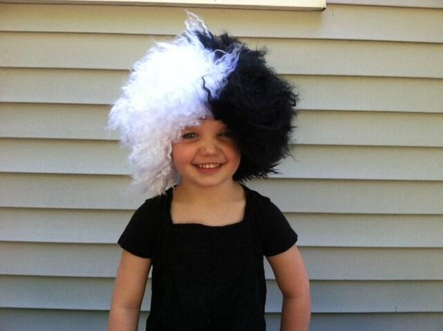toddler halloween black wig 85