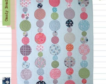 FREE SHIPPING! Candy Beads Pattern by Lori Holt of Bee In My Bonnet