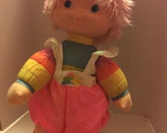 Vintage 1983  hallmark,Mattel baby bright 16 inch doll