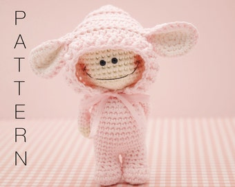 Amigurumi crochet doll - The Little Doodah Millie doll PATTERN ONLY (English)