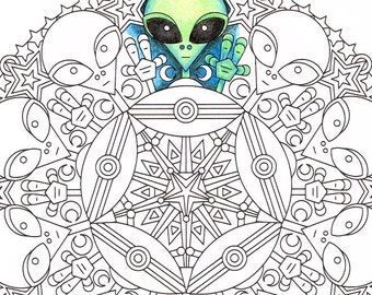 Christmas Mandala Coloring Page Christmas Morning
