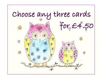 Buy 3 cards
