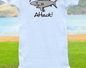 Shark Attack Onesie