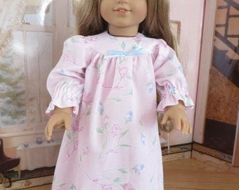 18 Inch Doll Clothes -  Nightgown