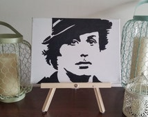 Rocky Balboa Portrait - Custom Handpainted Acrylic Canvas