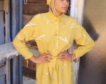 Square Silk Scarf. 1m Yellow Silk Scarf Shawl.