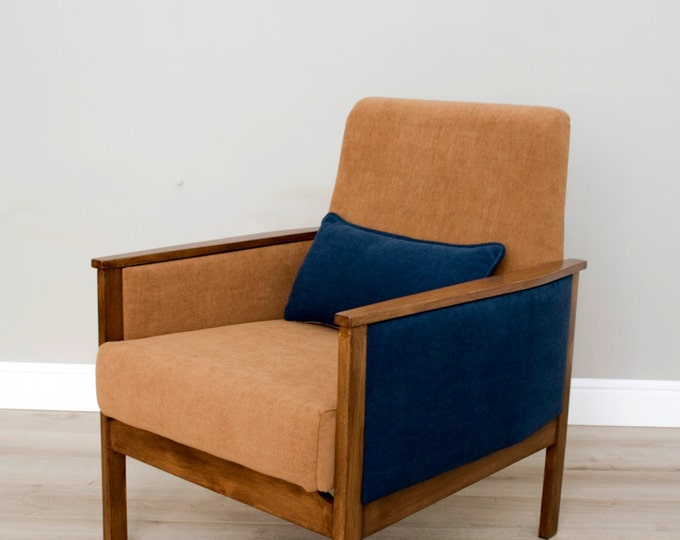 Connie Mid Century Upcycled Armchair