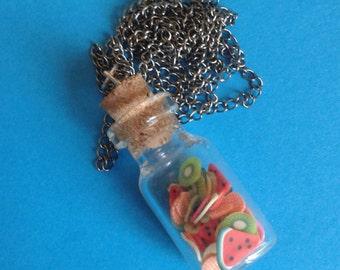 Fruit Jar Necklace