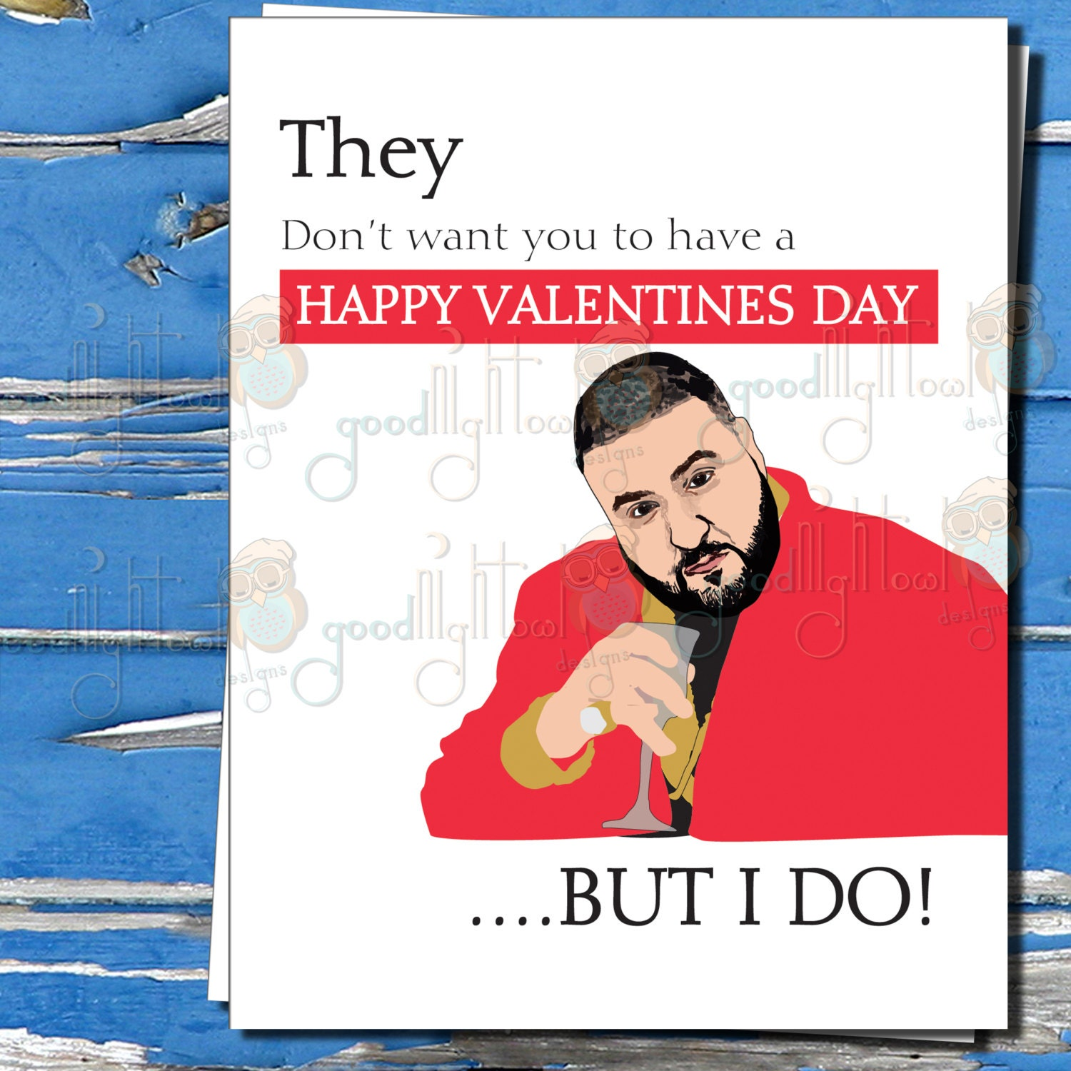 Funny Meme Valentines Day Cards : Dj khaled funny valentines day card they don t want