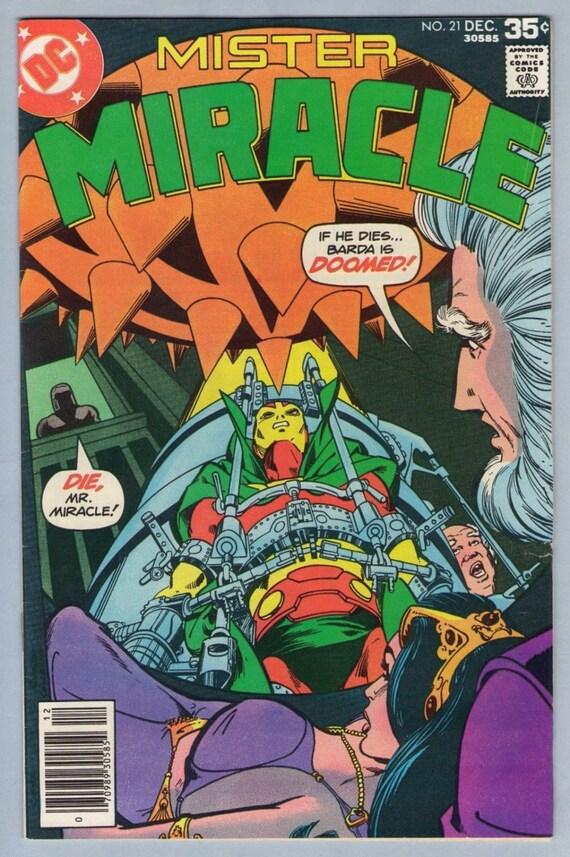 Mr. Miracle 21 Dec 1977 VF (8.0)