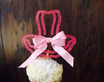 Ballerina Ballet Tutu Cupcake Topper Birthday Party - Ballerina Party Girl - Ballerina Tutu Party Decorations - Custom - Candy Bar Cupcakes