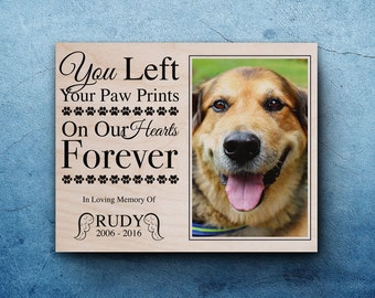 pet memorial frame pet loss gifts dog sympathy pet memorial frames for dogs pet memorial picture frame personalized dog memorial frames