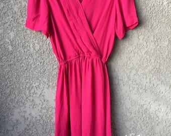 Pink Starlo midi dress