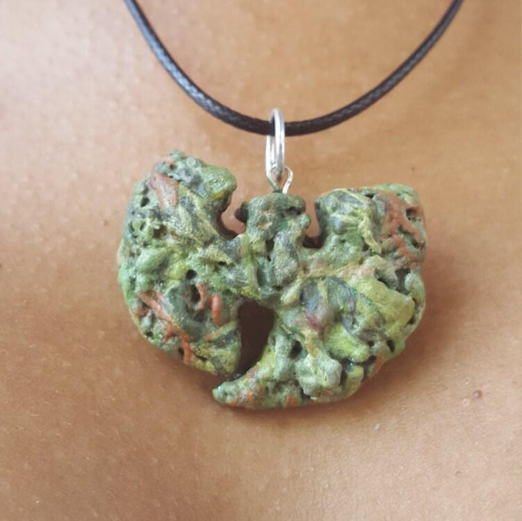 Wu Tang Clan Weed Nugget Marijuana Jewelry Weed Pendant 420