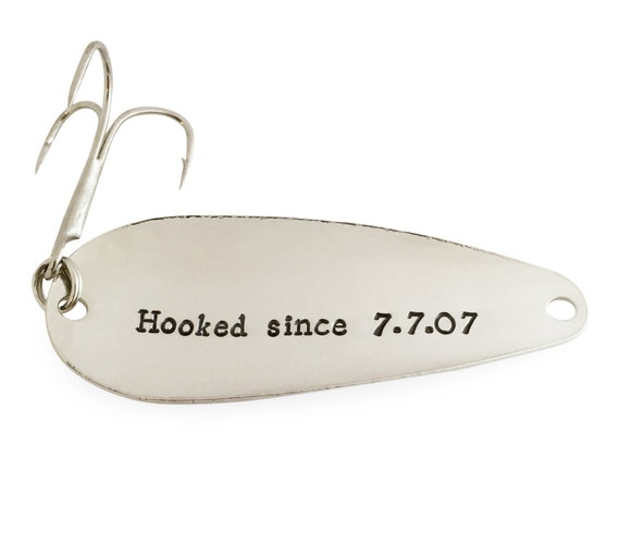 Gifts for him fishing spoons 9th anniversary by for Fishing gifts for him
