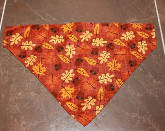 Acorn & Leaf Fall Bandana
