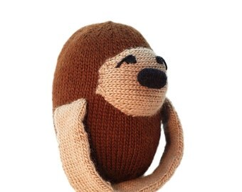 Knitting Pattern Gary the Sloth Pdf INSTANT DOWNLOAD