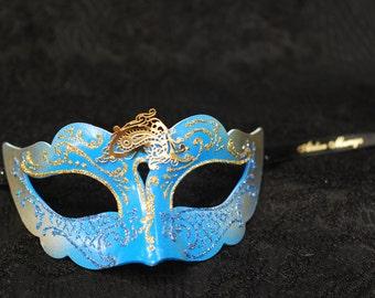 Kids mask -  Kids Mask - Kid Costume for Carnival, Halloween, Mardi Gras, Venetian Masks, Masquerade Balls, Birthday Parties B05