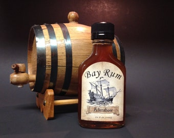 All Natural Handmade Bay Rum Aftershave  3.4 fl oz/100ml