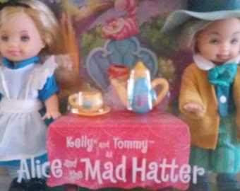 Kelly and Tommy As Alice and The Mad Hatter
