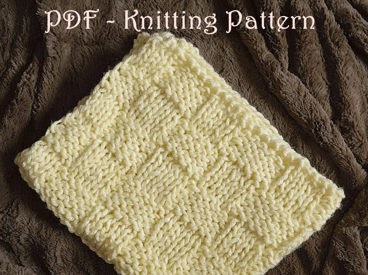 118 pdf blanket knitting pattern easy knitting pattern knit a this is a digital file bankloansurffo Gallery