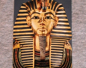 Magnet KING TUT Tutankhamun egyptian pharaoh tomb ancient egypt mask boy king  refrigerator magnets