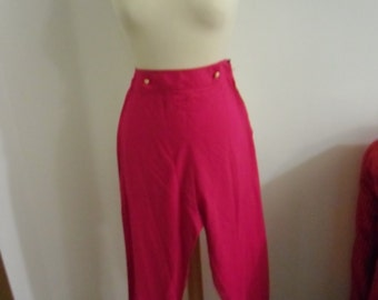 vintage pants, 1980s, made in italy