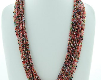 Seed Beads Jewelry, Beaded Jewelry, Nepal Necklace, Layered and Long Shop