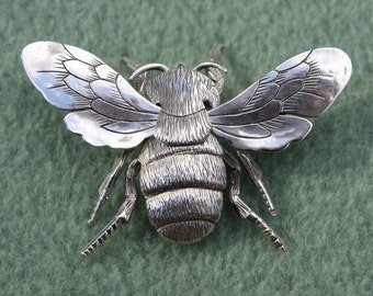 Sterling BumbleBee Pin/Pendant