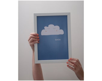 "Poster 210 x 297 (vertical) ""Sleeping"""