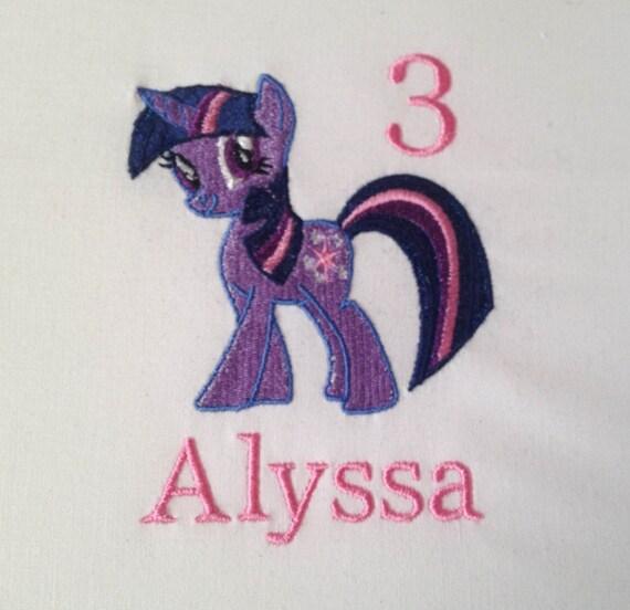 Twilight Sparkle Birthday Shirt My Little Pony Birthday