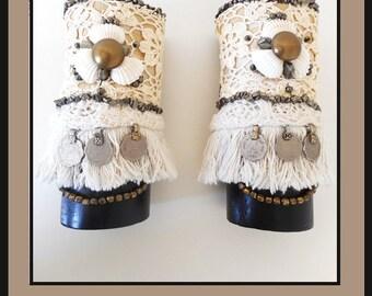 Natural Gypsy Cuffs (1 matching pair)